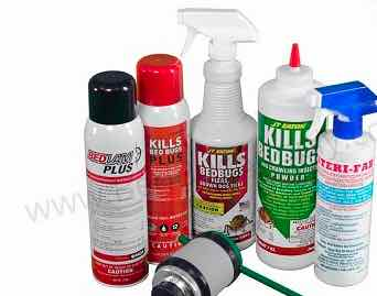 bed bug spray and powder kit