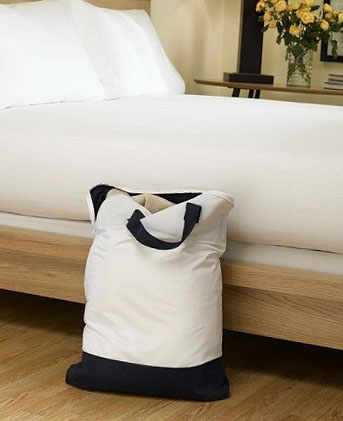 bed bug repellent laundry bag