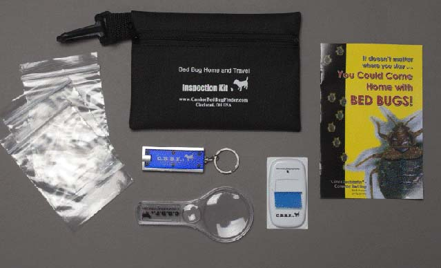 bed bug travel inspection kit
