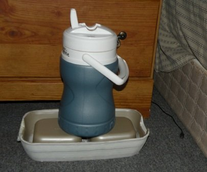 Assembled Home Made Bed Bug Trap