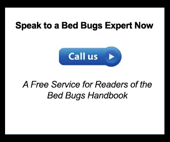 speak to a bed bugs exterminator