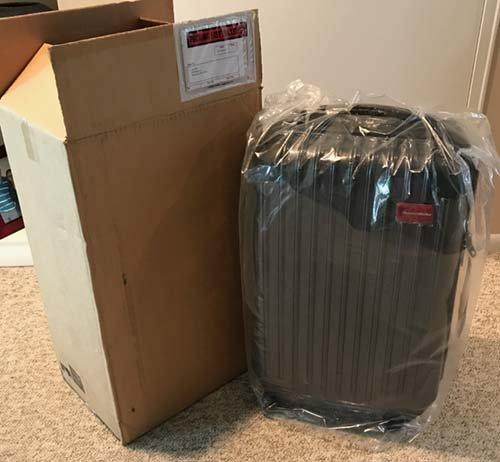 bed bug proof luggage