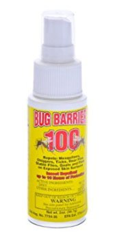 bed bug barrier repellent spray