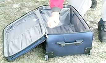 Bed Bug Travel Prevention starts with spraying your luggage before you leave home