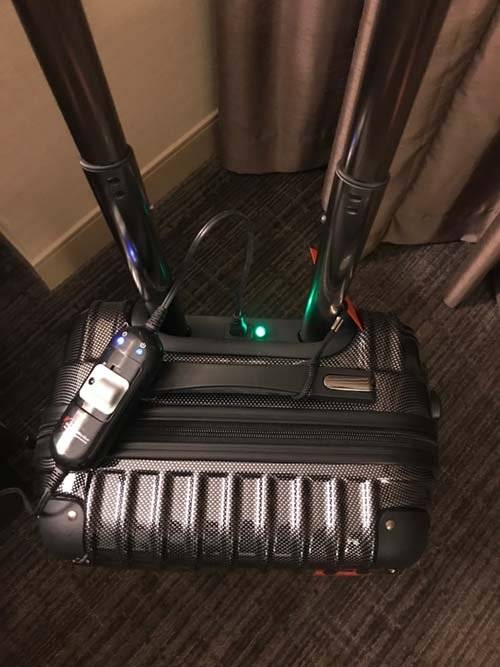 thermalstrike bed bug proof suitcase